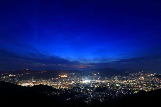 Night View from Mt.Konpira