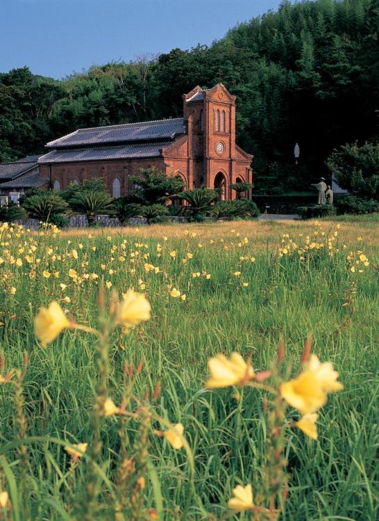 Dozaki Church & Evening Primrose