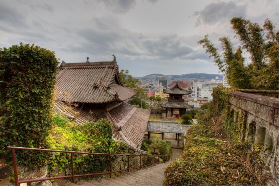 Nagasaki City View from Shofukuji 1