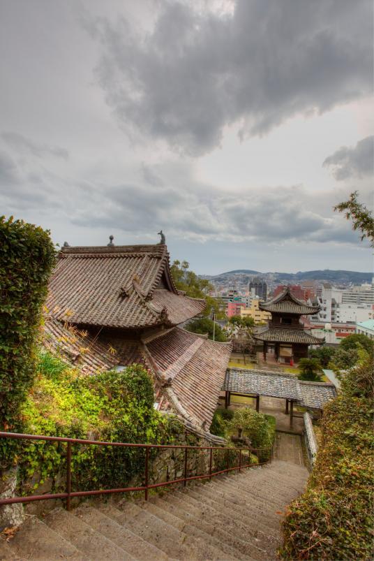 Nagasaki City View from Shofukuji 2