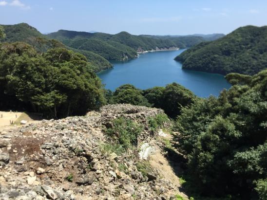 Kaneda Castle - Stone Fort