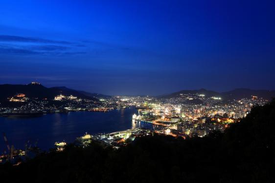 Night View from Mt. Nabekanmuri