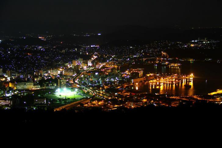 Night View from Yumiharidake