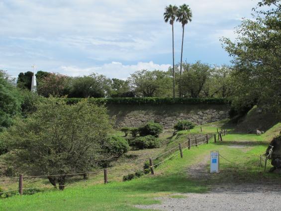 Hara Castle Ruins - Honmaru Entrance
