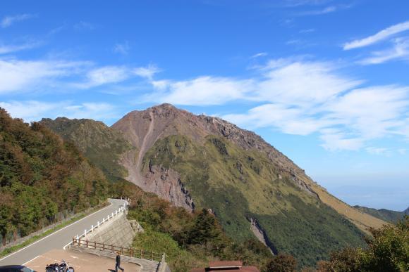 Heisei Shinzan from Nita Pass 2nd Observatory