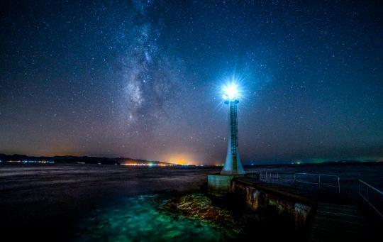 Setsumesaki Lighthouse (Night View)