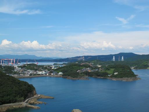 View from Wakodo-no-Mori Observatory