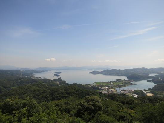 Omura Bay (from Hachiningatake Park)