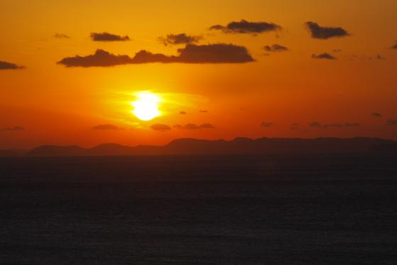 Sunset View from 33rd Parallel North Observatory