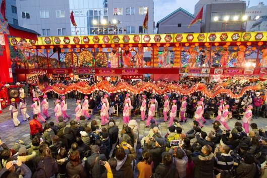 Lantern - Dragon Dance (Kakumei Gakuen Nagasaki Joshi High School) 3