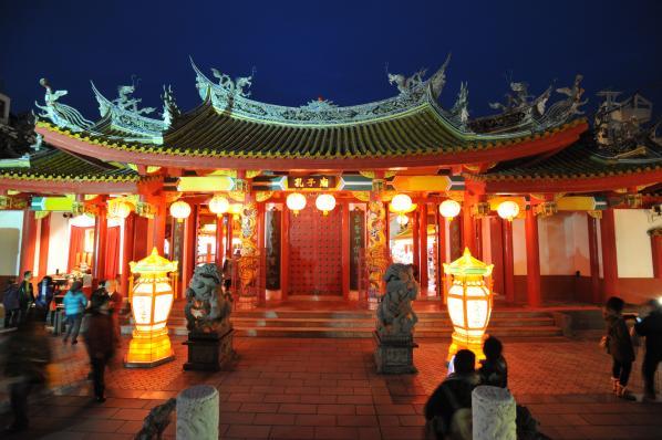 Nagasaki Lantern Festival (Confucian Shrine)