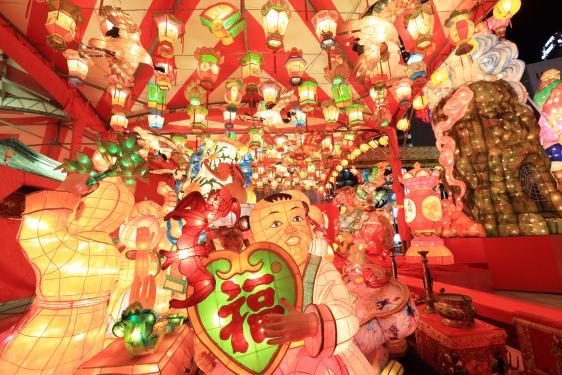Nagasaki Lantern Festival (Shinchi Chinatown) 2
