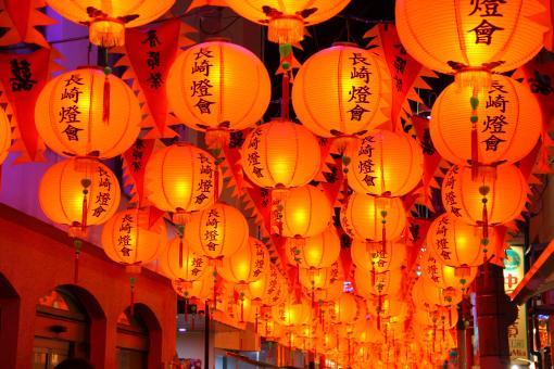 Nagasaki Lantern Festival (Shinchi Chinatown)