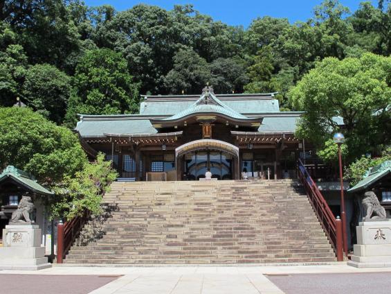 Suwa Shrine 1