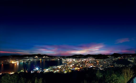 Night View from Mt. Nabekanmuri 2
