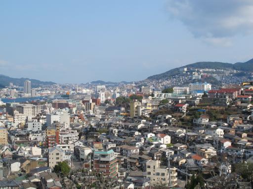 Nagasaki City View from Izumo Neighborhood Park