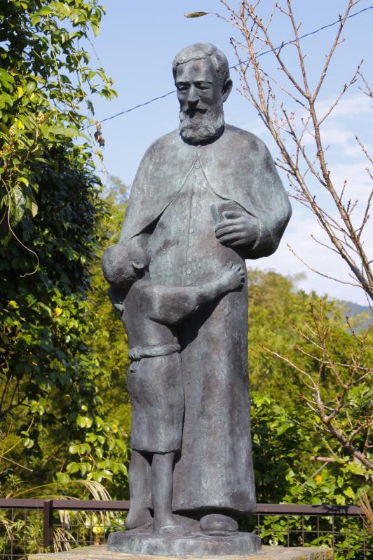 Statue of Fr. de Rotz