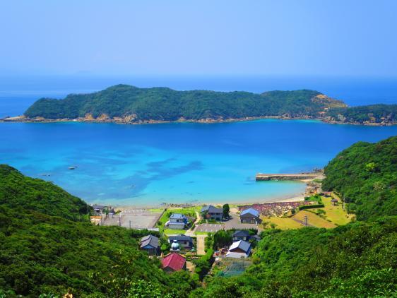 Village on Kashiragashima Island