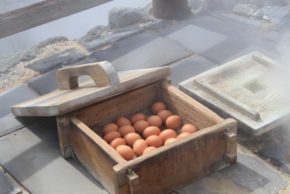 Unzen Jigoku - Onsen Tamago (Hot Spring Egg)