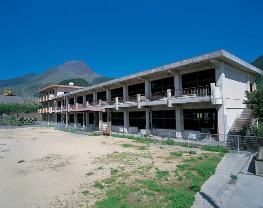 Former Onokoba Elementary School Building (Post Disaster)