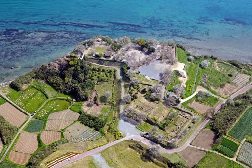 Hara Castle Ruins - Honmaru