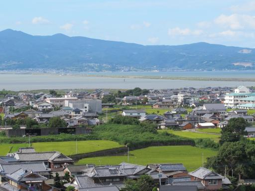 View from Yamada Castle Park (Azumacho)